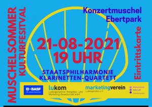 Staatsphilharmonie mit Klarinetten-Quartett